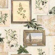 Tiles & More XIV 307207 Zeytin Desenli Pop Art Duvar Kağıdı