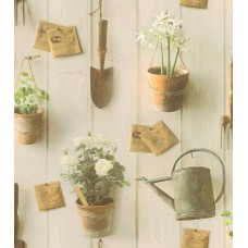 Tiles & More XIV 307306 Çiçek Desenli Duvar Kağıdı