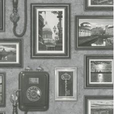 Tiles & More XIV 307900 Çerçeve Desenli Duvar Kağıdı