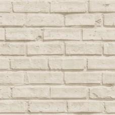 Roll İn Stones E72407 Krem Tuğla Görünümlü Duvar Kağıdı