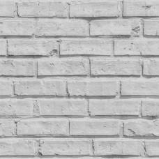 Roll İn Stones E72419 Gri Tuğla Desenli Duvar Kağıdı