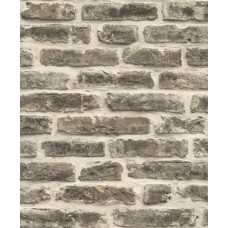 Roll İn Stones J179-19 Gerçek Tuğla Görünümlü Duvar Kağıdı