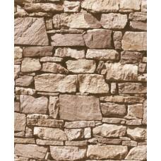 Roll İn Stones J457-08 Gerçek Taş Görünümlü Duvar Kağıdı