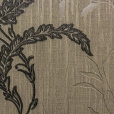 Scarlet 1630 Kahve Çiçekli Vinil Duvar Kağıdı