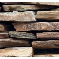 Stone And Wood 6015 3 Boyutlu Taş Desen Duvar Kağıdı