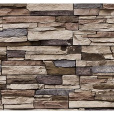Stone And Wood 6018 Yerli Taş Görünümlü Duvar Kağıdı