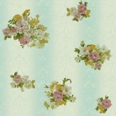 Truva 8603-3 Çiçek Görünümlü Duvar Kağıdı