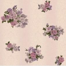 Truva 8603-4 Vinil Çiçekli Duvar Kağıdı
