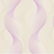 Truva 8605-2 Lila Geometrik Desenli Duvar Kağıdı