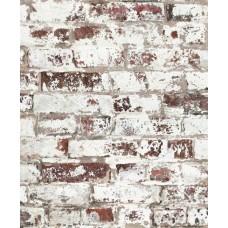 Faux Semblant J98508 Eskitme Tuğla Desenli Duvar Kağıdı