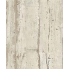Faux Semblant L10907 Eskitme Ahşap Desenli Duvar Kağıdı