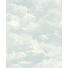Faux Semblant L13101 Mavi Bulut Desenli Duvar Kağıdı