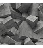 Hexagone L50519 3 Boyutlu Duvar Kağıdı