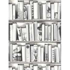 Kaleidoscope E82209 Kitap Desenli Genç Odası Duvar Kağıdı