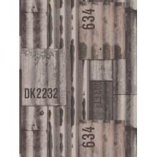 Kaleidoscope J87508 Metal Desenli Pop Art Duvar Kağıdı