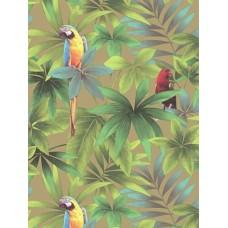 Kaleidoscope J92902 Renkli Papağanlar İthal Duvar Kağıdı