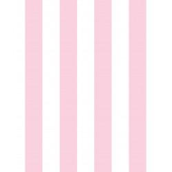 Milky Baby 430-3 Pembe Çizgili Duvar Kağıdı