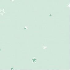 Ada Kids 8913-2 Gece Parlayan Yıldız Desenli Duvar Kağıdı