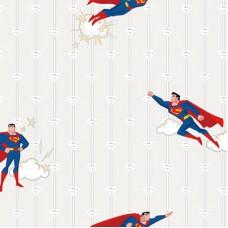 Ada Kids 8915-1 Çizgi Karakter Superman Duvar Kağıdı