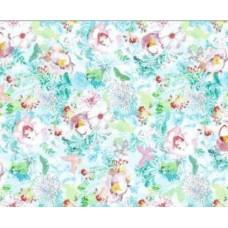 Alkor 280-0063 Dekoratif Çiçek Desen Yapışkanlı Folyo