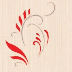 Berceste 54082 Yaprak Motifli Duvar Kağıdı