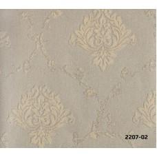 Bossini 2207-02 Damask Görünümlü Duvar Kağıdı