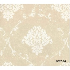 Bossini 2207-04 Damask Motifli Duvar Kağıdı