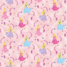 Classic 321-A Prenses Desenli Çocuk Odası Duvar Kağıdı