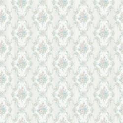 Classic 335-B Retro Damask Desenli Duvar Kağıdı