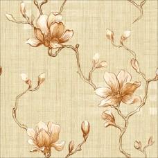 Classic 358-A Çiçek Desenli Duvar Kağıdı