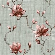 Classic 358-E Çiçek Desenli Duvar Kağıdı