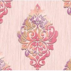 Classic Collection 4302 Pembe Damask Desenli Duvar Kağıdı