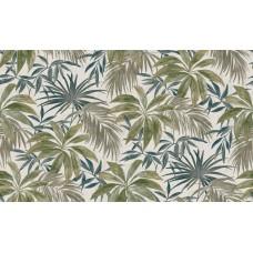 Contempo 572461-3 Tropikal Yaprak Görünümlü Duvar Kağıdı