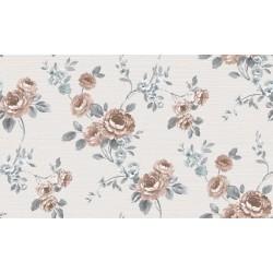 Contempo 572951-3 Çiçek Motifli Duvar Kağıdı