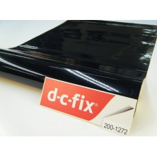 D-c-fix 200-1272 Düz Parlak Siyah Yapışkanlı Folyo