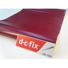 D-c-fix 200-1829 Mat Düz Bordo Yapışkanlı Folyo