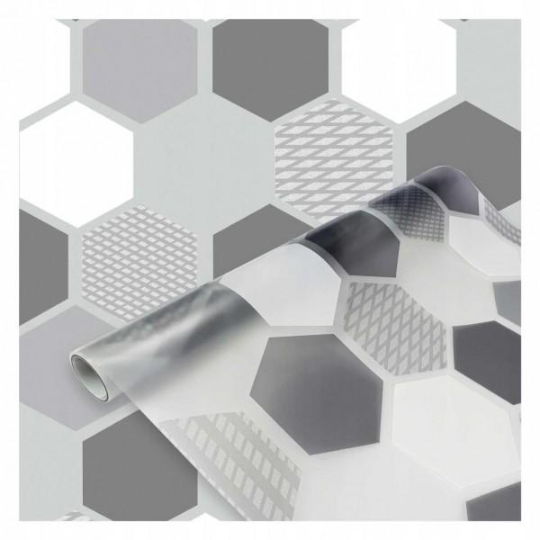 D-c-fix 334-0039 Geometrik Desenli Statik Cam Folyo (45cm x 1mt)