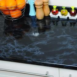 D-c-fix 346-2713 Siyah Mermer Desen Kendinden Yapışkanlı Folyo