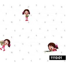 Decokids 1110-01 Çocuk Odası Duvar Kağıdı