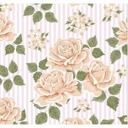 Floral Collection 5004 Non Woven Çiçekli Duvar Kağıdı