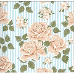 Floral Collection 5007 Gül Desenli Duvar Kağıdı