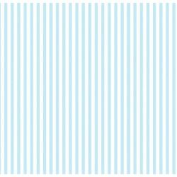 Floral Collection 5008 Mavi İnce Çizgili Duvar Kağıdı