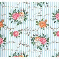 Floral Collection 5009 Çiçekli Non Woven Duvar Kağıdı
