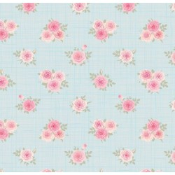 Floral Collection 5014 Gül Görünümlü Duvar Kağıdı