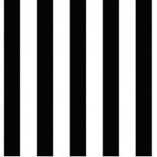 Forever 15243 Siyah Beyaz Çizgili Duvar Kağıdı