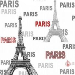 Forever 15908 Paris Eyfel Desenli Duvar Kağıdı