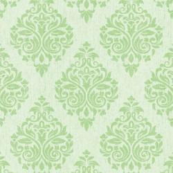 Four Seasons 437057 Açık Yeşil Damask Model Duvar Kağıdı