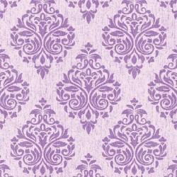 Four Seasons 437058 Mor Damask Motifli Duvar Kağıdı