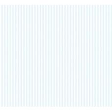 Grown Baby 110-2 İnce Mavi Çizgili Duvar Kağıdı