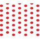 Grown Baby 152-10 Beyaz Zemin Kırmızı Puantiyeli Duvar Kağıdı